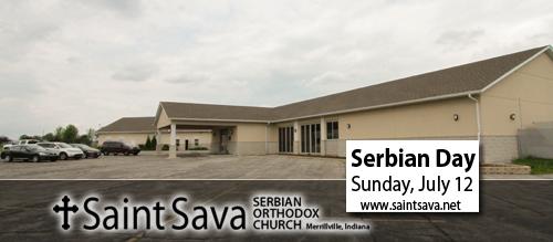 Serbian Day Celebration, Sunday, July 12