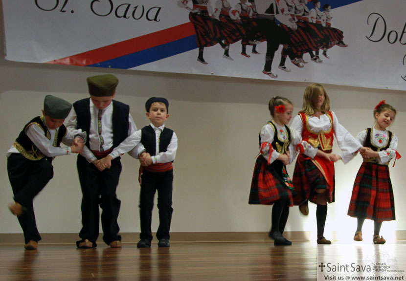 St. Sava Folklore Performs at St. George Folklore Festival – Saturday, Nov. 7