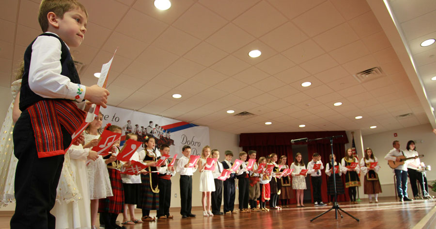 St. Sava Children's Choir Performs in Joliet, IL; Srbadija Performs in Lansing, IL – Saturday, Feb. 20