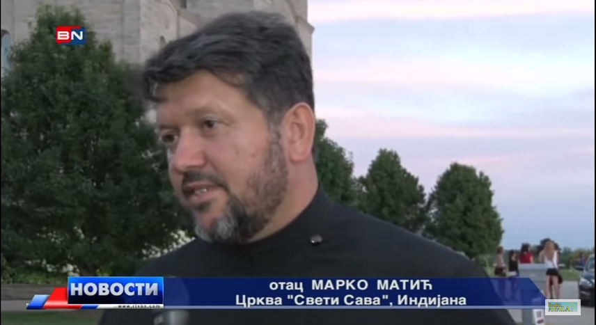 St. Sava Serb Fest 2015 Featured on Bosnian Radio-Television Channel