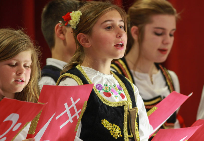 Folklore and Children's Choir Take The Stage at Valparaiso World Culture Fest, Sept. 19