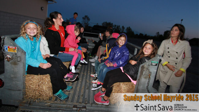 Images from the Sunday School Annual Hayride/Bonfire