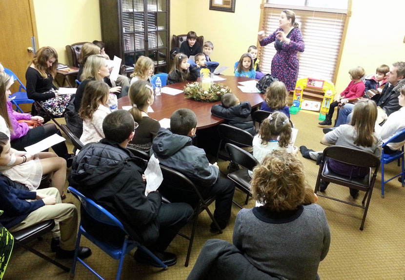 Sunday School Students Prepare for St. Sava Day Celebration – Sunday, Jan. 24