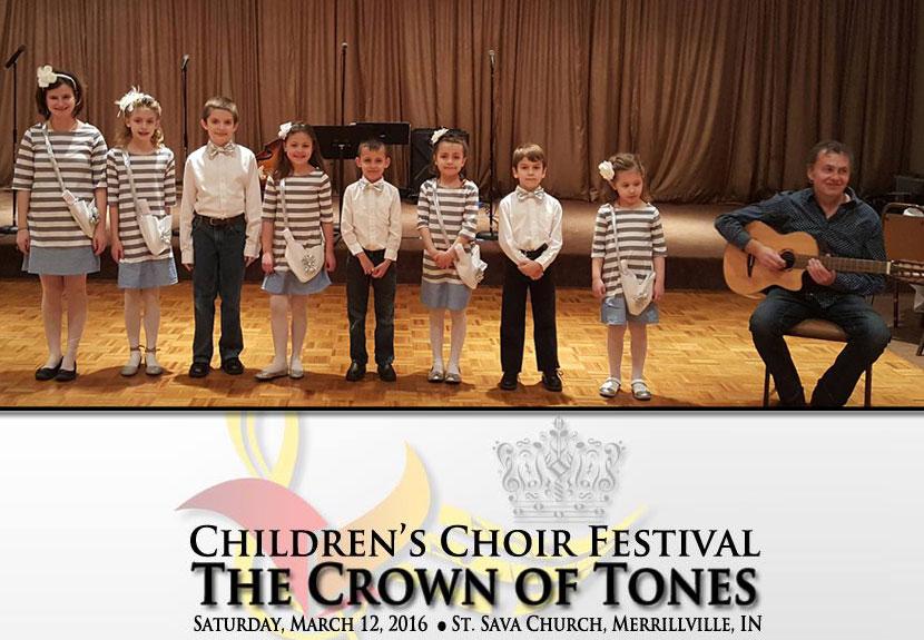 St. Sava Hosts Inaugural Children's Choir Festival – Saturday, Mar. 12