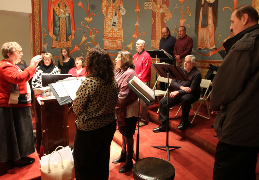 Karageorge Choir at St. Sava invites you to practice for Easter – Tuesday, Mar. 21