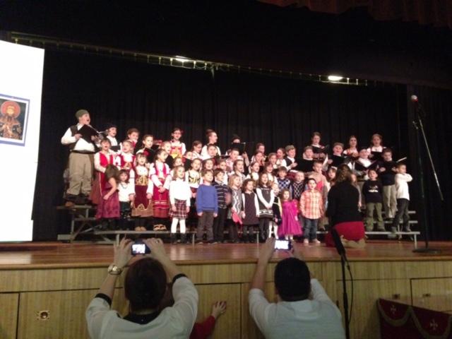 St. Sava Milwaukee Children Among Performers at St. Sava Merrillville Choir Festival – Saturday, Mar. 12