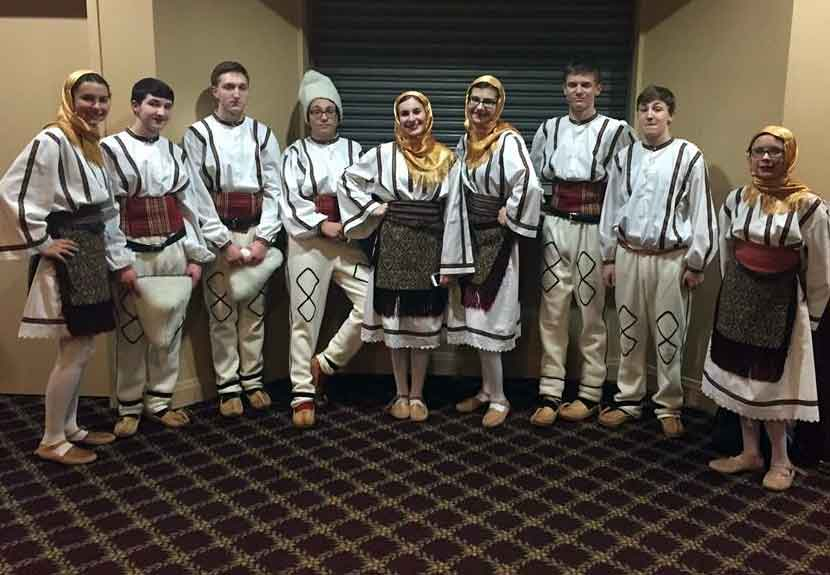 Kolo Folklore of St. Archangel Michael to perform in Merrillville at St. Sava Intercultural Dance Festival – Saturday, May 7