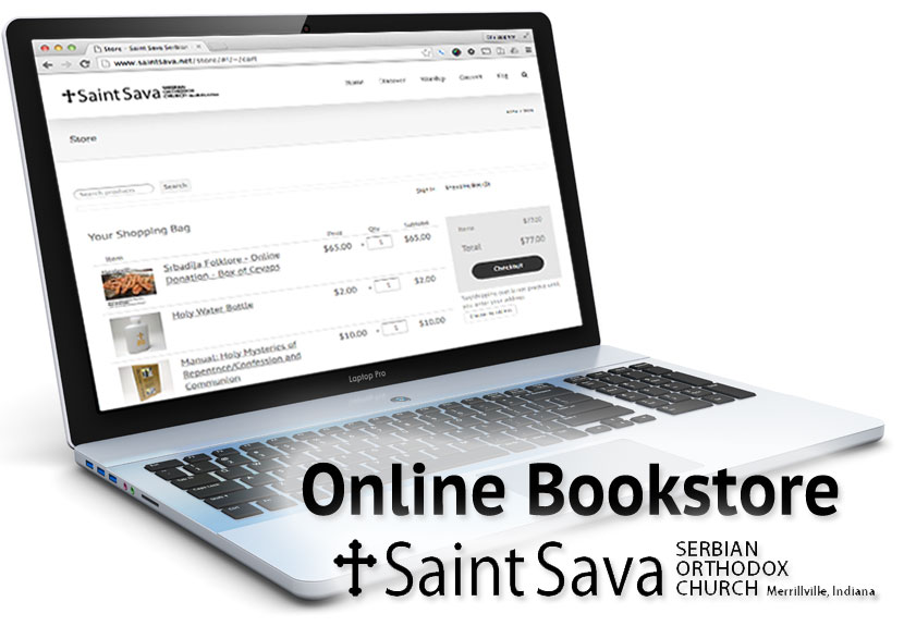 Donate to Folklore through new online bookstore and payment options at St. Sava