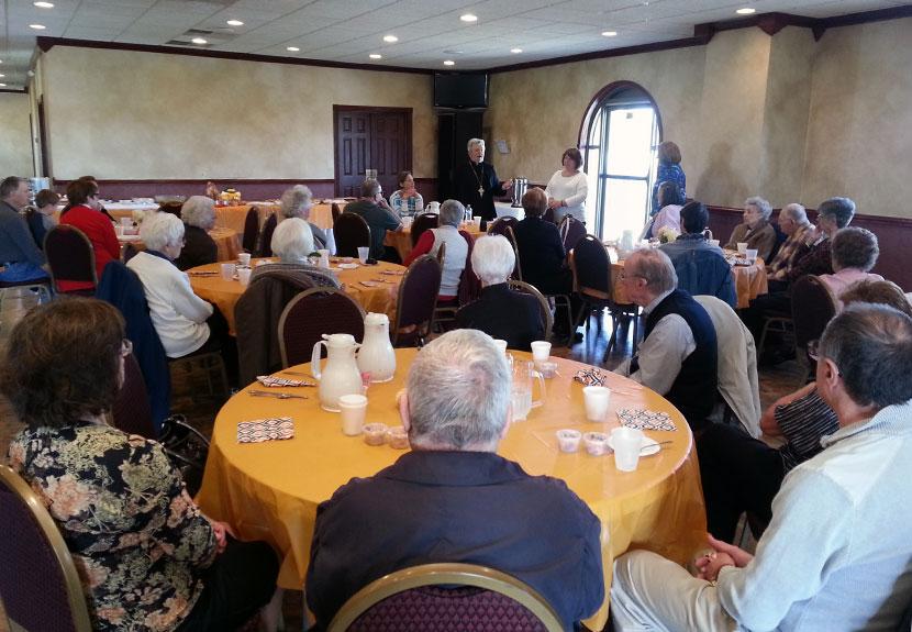 Senior Luncheon at St. Sava in Merrillville – Thursday, May 26