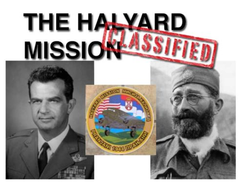Serb Fest 2016 Exhibit: The Halyard Mission – Classified