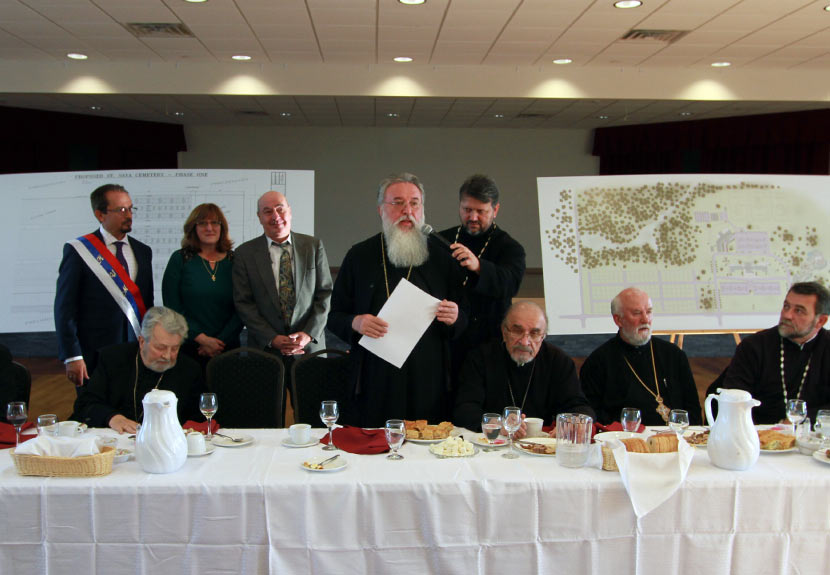 Bishop Login Remarks: Greetings after Blessing of Cemetery at St. Sava in Merrillville – Nov. 12