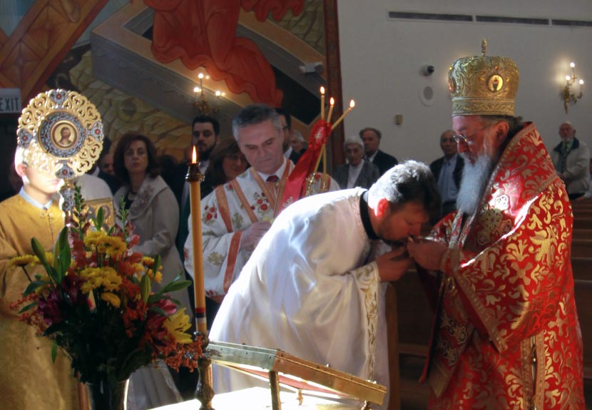 Father Marko Matic and Saint Sava Church receive special recognition by His Grace Bishop Longin