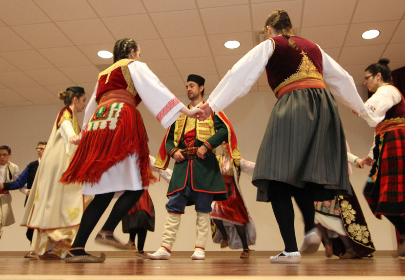 Srbadija Youth Folklore of St. Sava: 2 performances, 2 states – Saturday, Feb. 11