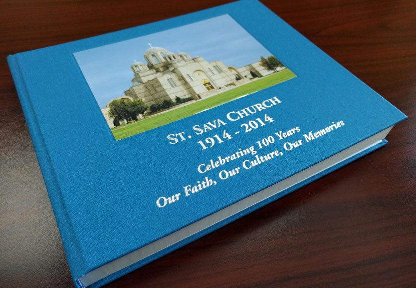 100 years of history available in commemorative book about St. Sava Church