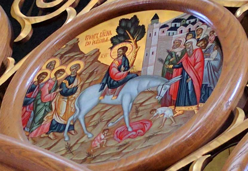 Holy Week begins with Lazarus Saturday, Apr. 8 and Palm Sunday, Apr. 9