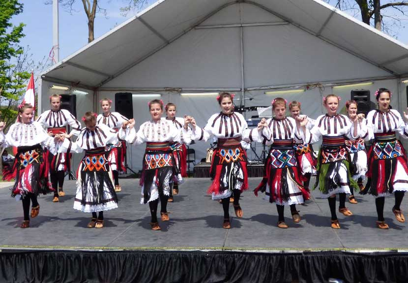 """Folklorna Grupa Kosovski Bozuri"" from Oakville, Ontario to perform at St. Sava Intercultural Dance Festival in Merrillville – Saturday, May 20"