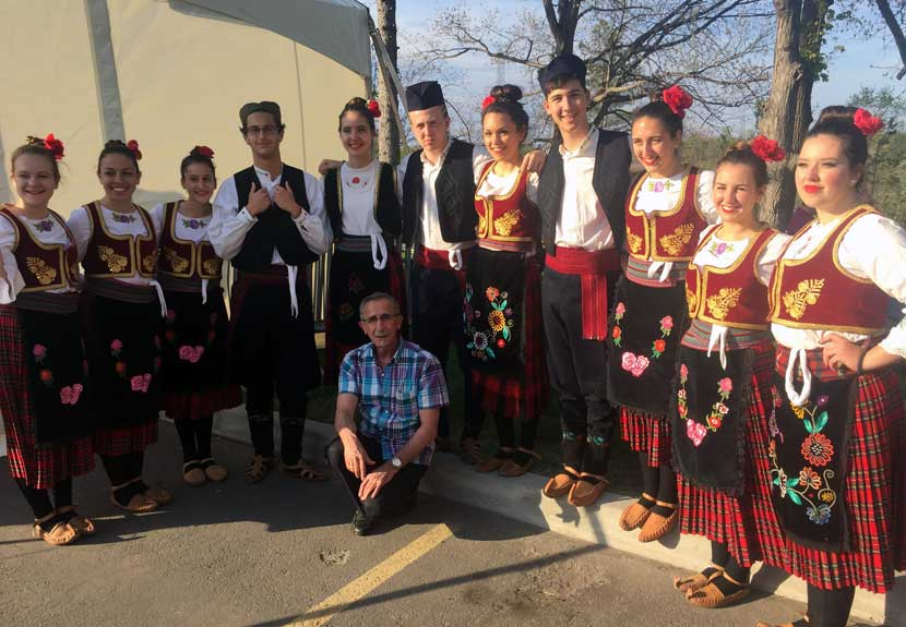 "Folklore groups ""Studenica"" and ""Hilandar"" from Niagara Falls, Ontario to perform at St. Sava Intercultural Dance Festival in Merrillville – Saturday, May 20"