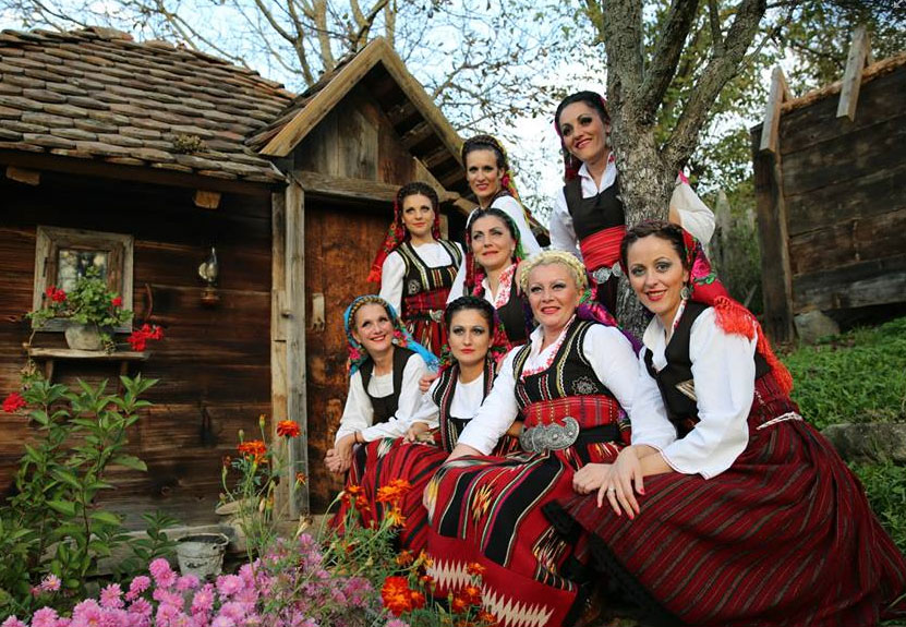 "Ensemble ""Frula"" from Raska, Serbia performs at St. Sava August 7"