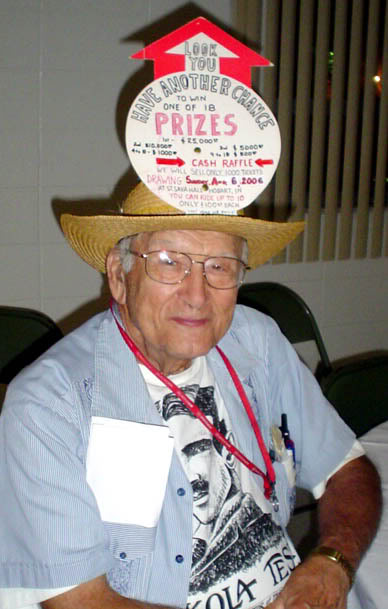 """Lucky"" Gordon Gerbick, the man and his hat"
