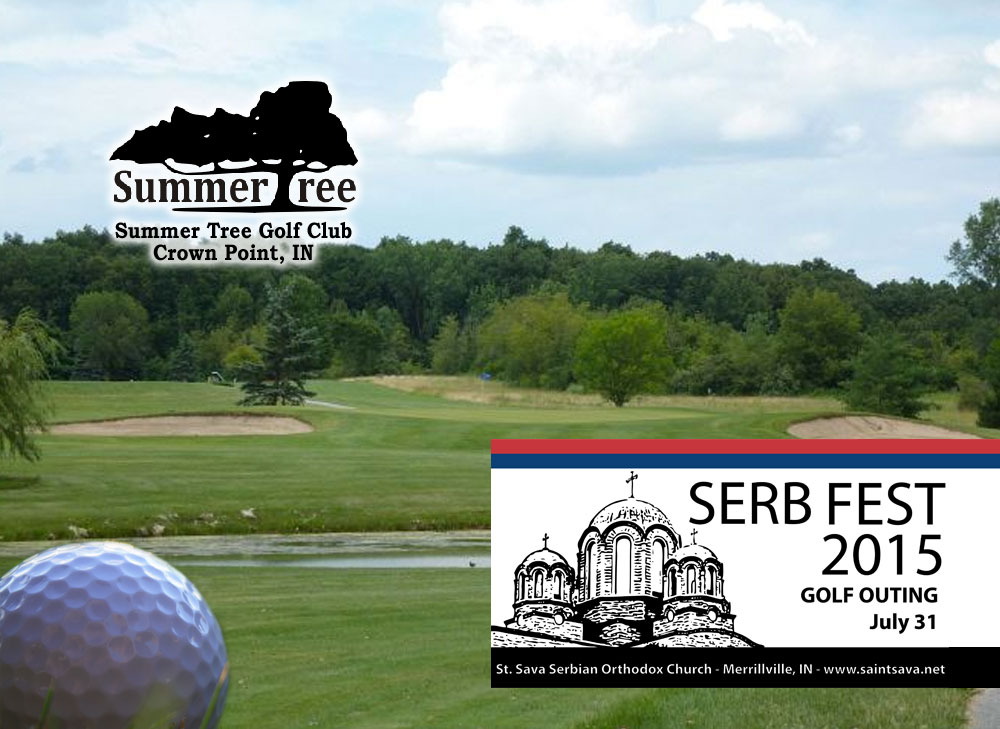 St. Sava Serb Fest 2015 Golf Outing Sponsorships Available