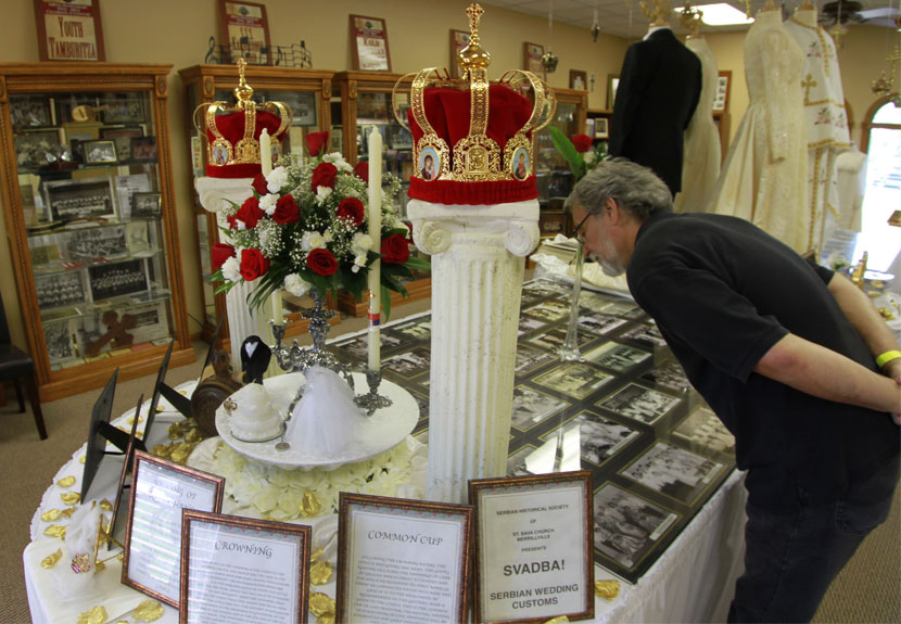"St. Sava Historical Society ""Serbian Weddings"" Exhibit Feature Continues"