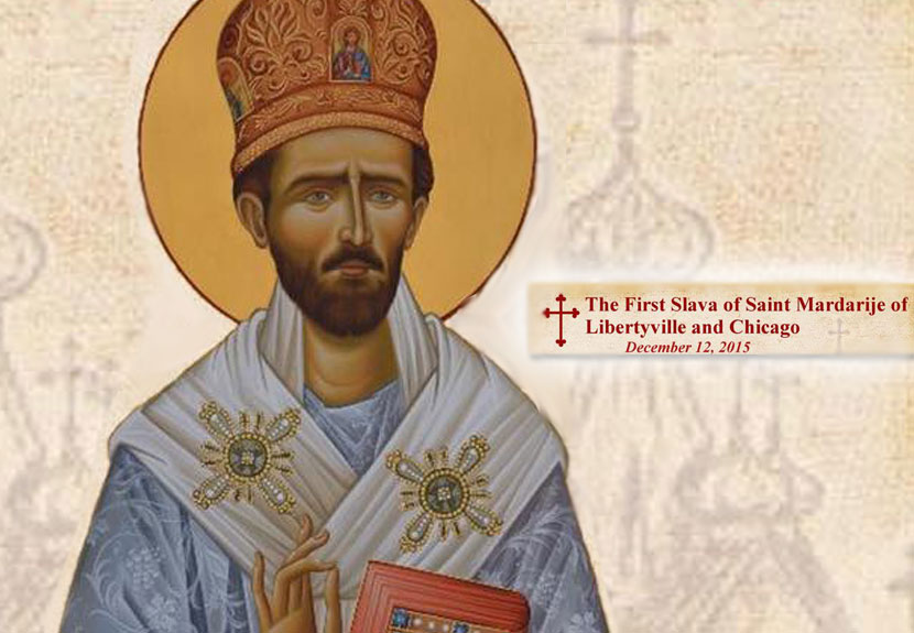 Celebrate First Slava of Saint Mardarije of Libertyville and Chicago – Dec. 12