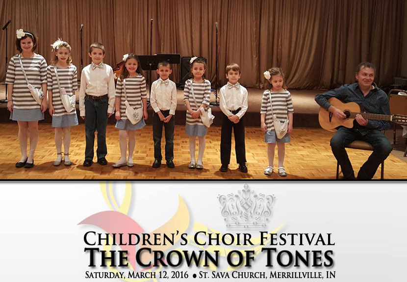 St. Sava Hosts Inaugural Children's Choir Festival – Saturday, Mar. 12
