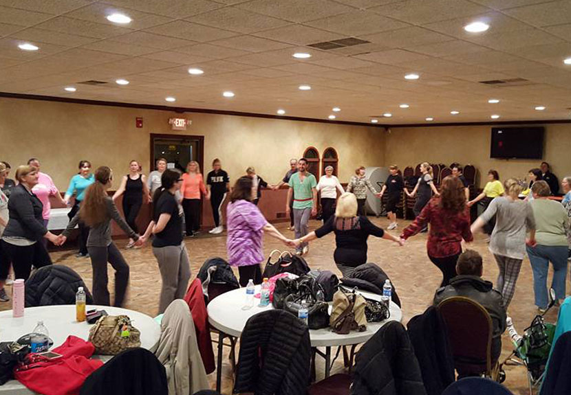 Weekly folklore dance sessions open to adults from around the community – Monday, Feb. 13