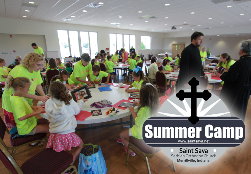Summer Camp at St. Sava registration still open; deadline Wednesday, June 1