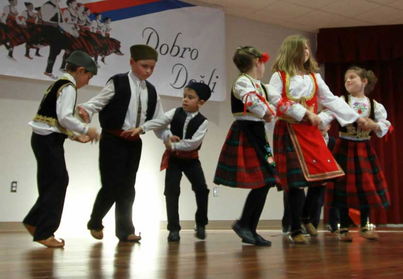 Srbadija Folklore of St. Sava Merrillville hosts, performs at Intercultural Dance Festival – Saturday, May 7