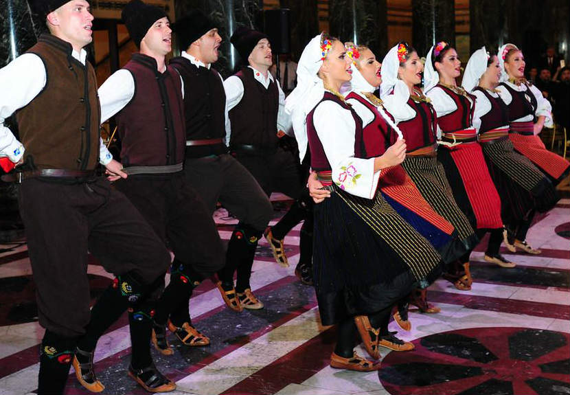 Talija Art Company from Serbia performs at St. Sava Merrillville – Sunday, Oct. 23