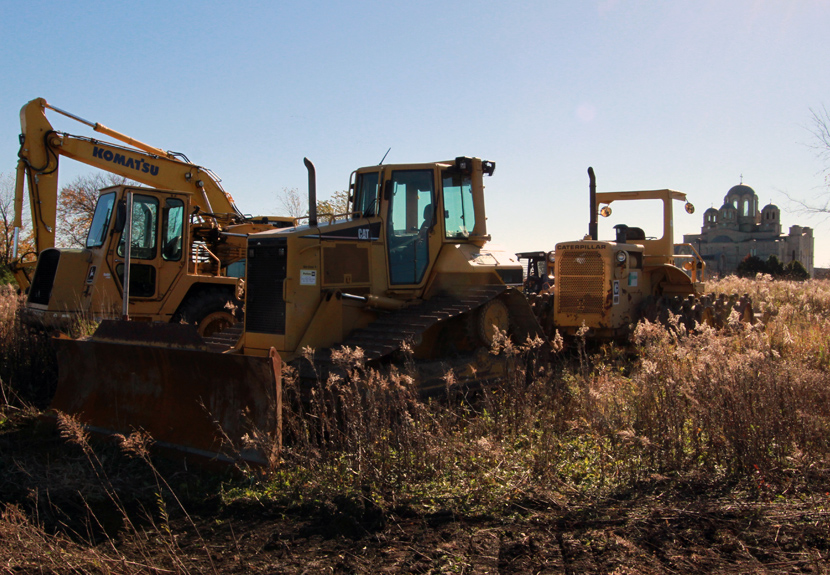 Historic groundbreaking ceremony for new cemetery at St. Sava Merrillville – Saturday, Nov. 12