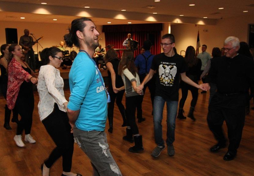 Friday Night Zabava Thanksgiving Weekend at St. Sava Merrillville – Friday, Nov. 25