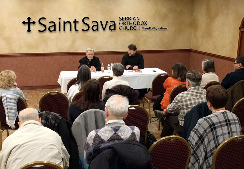 Orthodox Faith: Special discussion series continues at St. Sava – Wednesday, Mar. 8