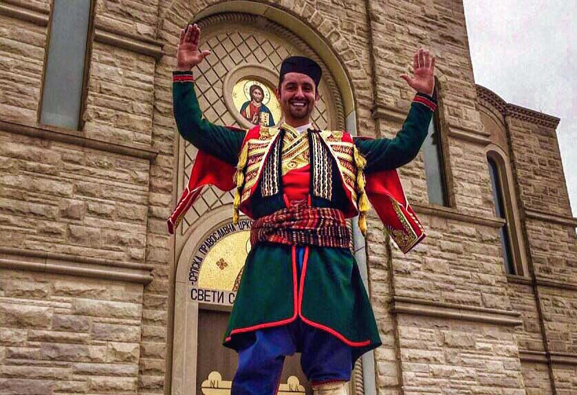 Exhibition and presentation of Serbian national folk costumes at St. Sava in Merrillville – Tuesday, Mar. 7